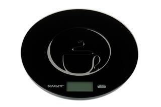 Кухонные весы Scarlett SC-1215 черный