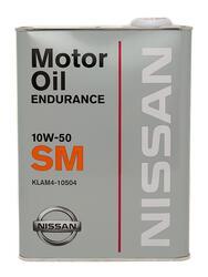Моторное масло Nissan (Orig.Japan) GTR Endurance 10W50 KLAM4-10504
