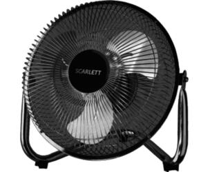 Вентилятор бытовой Scarlett SC-370 Черный Настольный