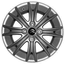 Автомобильный диск литой Replay CI23 6x15 4/108 ET 27 DIA 65,1 Sil