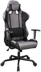 Кресло руководителя Бюрократ 771 черный, серый