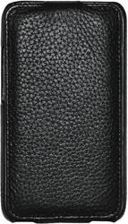 Чехол - книжка CLEVER SHELLCASE  для HTC One S/One S+ кожа/черный