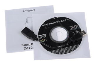 Внешняя звуковая карта Creative X-Fi Go! Pro