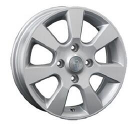 Автомобильный диск литой Replay NS23 6x15 4/114,3 ET 45 DIA 66,1 Sil