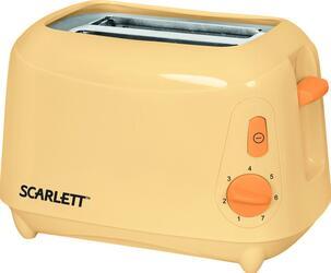 Тостер Scarlett SC-110 Белый с персиковым