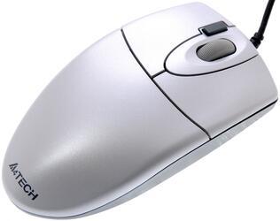 Мышь проводная A4Tech OP-620D серебристый