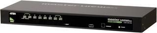 KVM переключатель ATEN CS1308, 1 user PS2/USB+VGA =\> 8 cpu PS2/USB+VGA, со шнуром PS2/USB 0.27