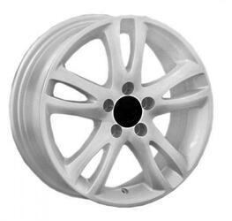 Автомобильный диск литой Replay SK1 6x15 5/112 ET 47 DIA 57,1 White