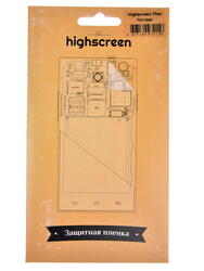 """5""""  Пленка защитная для смартфона Highscreen Thor"""