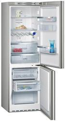 Холодильник с морозильником Siemens KG 36NA75 серебристый