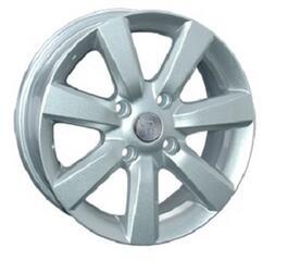 Автомобильный диск литой Replay NS89 6x15 4/114,3 ET 45 DIA 66,1 Sil