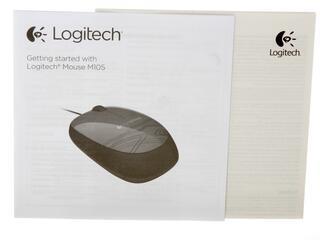 Мышь проводная Logitech M105
