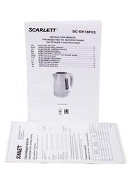 Электрочайник Scarlett SC-EK18P05 белый