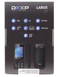 Сотовый телефон DEXP Larus E7 черный
