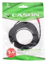 Кабель удлинительный Cason 3.5 mm jack - 3.5 mm jack