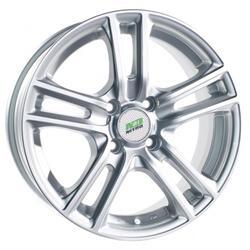 Автомобильный диск Литой Nitro Y242 6x14 4/98 ET 38 DIA 58,6 Sil