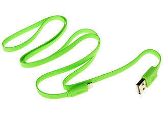 Кабель InterStep IS-DC-CIPH5FTGR-000B201 USB - Lightning 8-pin зеленый