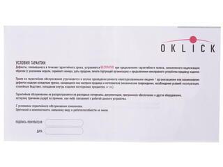 Мышь проводная Oklick 195M