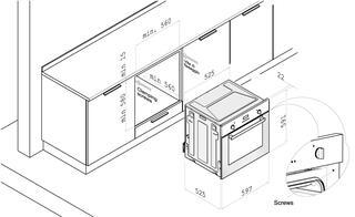 Электрический духовой шкаф Korting OKB 752 CFN