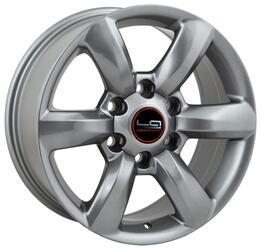Автомобильный диск Литой LegeArtis TY64 7,5x17 6/139,7 ET 25 DIA 106,1 Sil