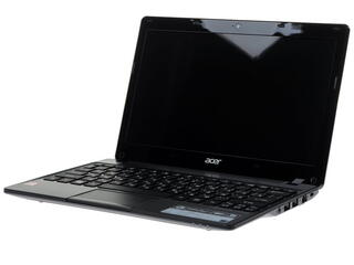"11.6"" Ноутбук Acer Aspire One AO725-C6SKK (HD) AMD C60(1.0)/2048/320/AMD HD6290/WiFi/Cam/MS Win8"