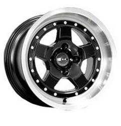 Автомобильный диск Литой K&K Sport Car 10x15 4/98 ET -10 DIA 58,5 Алмаз черный