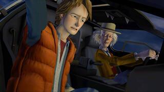 """[145458] Игра """"Назад в будущее. Эпизод 5: Вне времени"""" DVD"""