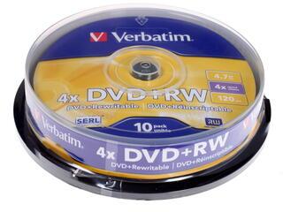 Диск Verbatim DVD+RW 4.7Gb