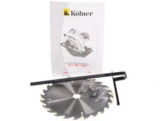 Пила дисковая Kolner KCS 185/1500