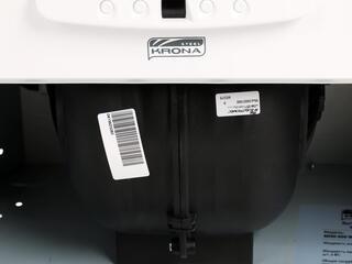 Вытяжка полновстраиваемая KRONAsteel MINI 600 white белый