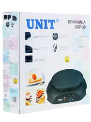Блинница Unit UGP-30 черный
