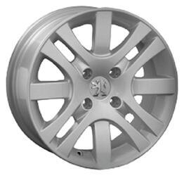 Автомобильный диск Литой LegeArtis PG26 6,5x15 4/108 ET 27 DIA 65,1 Sil
