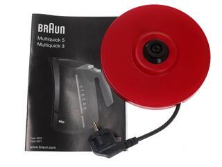 Электрочайник Braun Multiquick 3 WK 300 красный
