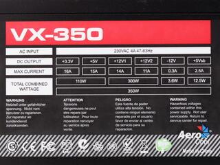 Блок питания Aerocool Vx-350 [VX-350]