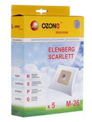 Мешок-пылесборник Ozone microne M-26