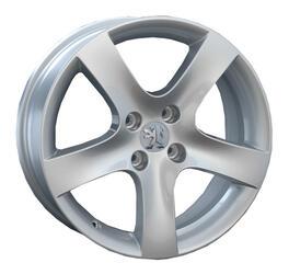 Автомобильный диск литой LegeArtis PG17 6x15 4/108 ET 27 DIA 65,1 Sil