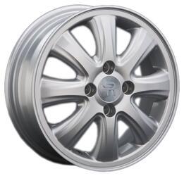 Автомобильный диск литой Replay GN72 5x13 4/100 ET 39 DIA 56,6 Sil