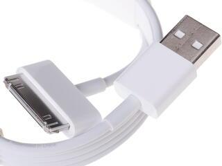 Кабель Apple MA591G/C USB - 30-pin белый