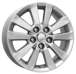 Автомобильный диск Литой K&K КС422 6,5x16 5/114,3 ET 45 DIA 60,1 Сильвер