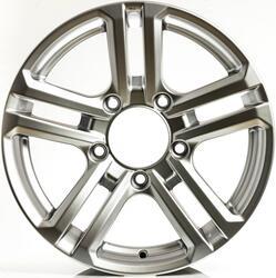 Автомобильный диск литой K&K Палладика 7x16 5/139,7 ET 30 DIA 98 Блэк платинум
