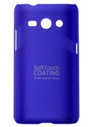 Накладка + защитная пленка  Deppa для смартфона Samsung G355 Galaxy Core 2