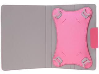 """Чехол-папка для планшета универсальный 8""""  розовый"""