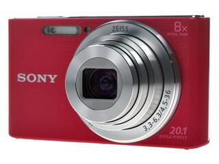 Компактная камера Sony Cyber-shot W830 красный