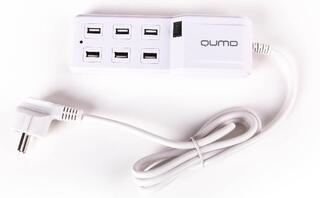 Сетевое зарядное устройство Qumo Energy 220.5