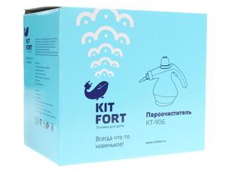 Пароочиститель Kitfort KT-906 зеленый
