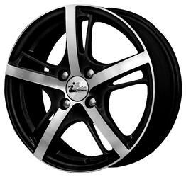 Автомобильный диск литой iFree Куба-Либре 6x15 4/100 ET 45 DIA 67,1 Блэк Джек
