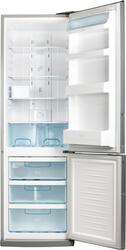 Холодильник с морозильником Daewoo Electronics FRL415S серебристый