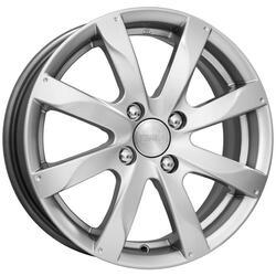 Автомобильный диск литой K&K Джемини 6x15 4/100 ET 45 DIA 56,6 Блэк платинум