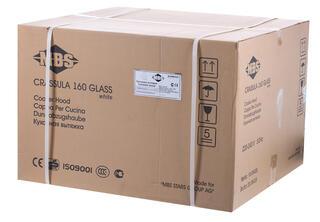 Вытяжка каминная MBS Crassula 160 Glass белый