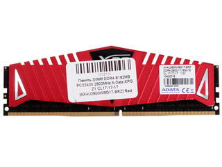 Оперативная память AData XPG Z1 [AX4U2800W8G17-BRZ] 8 ГБ